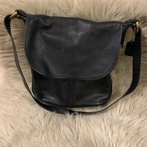 Vintage COACH Whitney Blk Leather Bag 4115